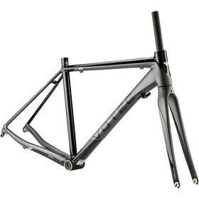 VOTEC VR – racercykel – stel-kit højglanssort/matgrå | Find cykeltilbehør på nettet | Bikester.dk